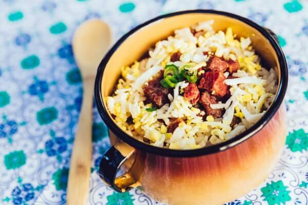 arroz carreteiro na panela