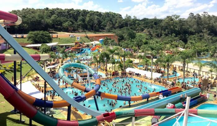 Imagem do Parque das Águas inteiro