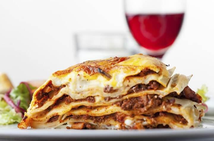 Lasanha - Dicas de comidas típicas italiana