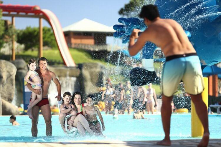 Cuidados nos parques aquáticos