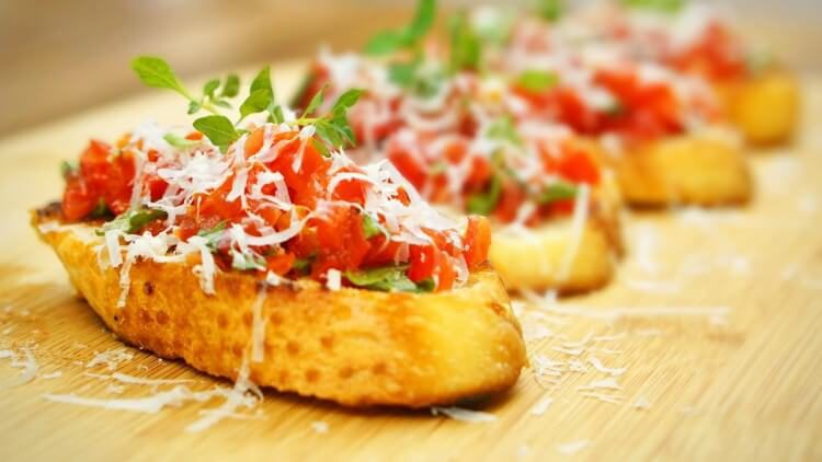 Conheça 6 pratos típicos da culinária italiana!